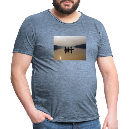 Live auf dem Staffelsee - Männer Vintage T-Shirt