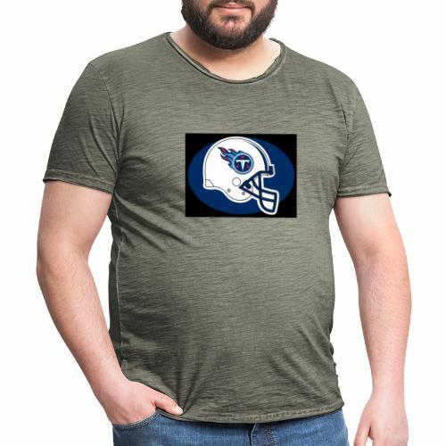 American fotboll - Vintage-T-shirt herr