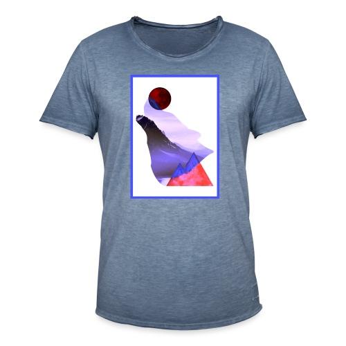 Måne Ulv - Laurids B Design - Herre vintage T-shirt