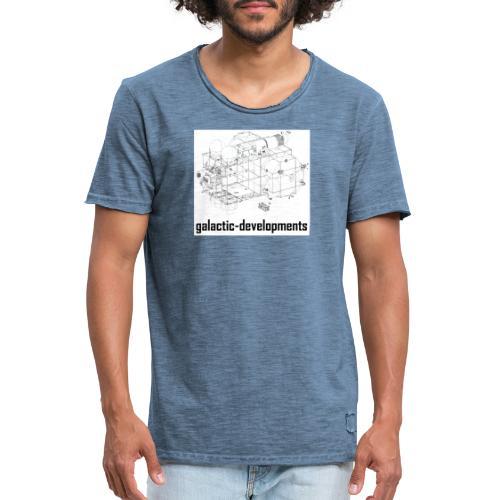 MarcoPolo - Männer Vintage T-Shirt