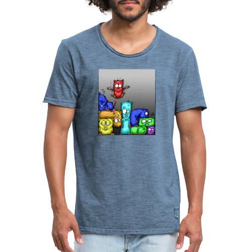 hamstris_farbe - Männer Vintage T-Shirt
