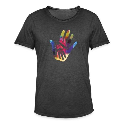 logo_storien - Vintage-T-skjorte for menn