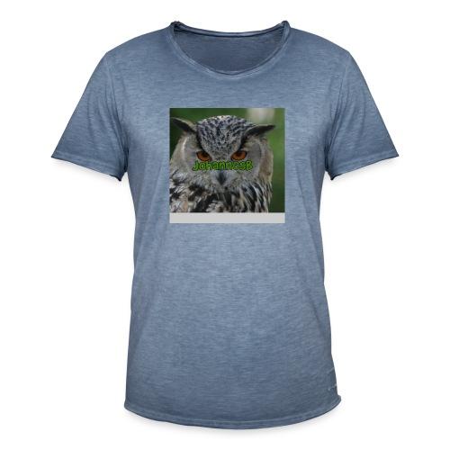 JohannesB lue - Vintage-T-skjorte for menn