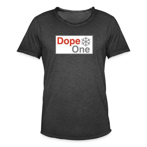 Dope One - Männer Vintage T-Shirt