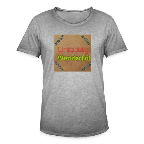 Autism statement - Men's Vintage T-Shirt