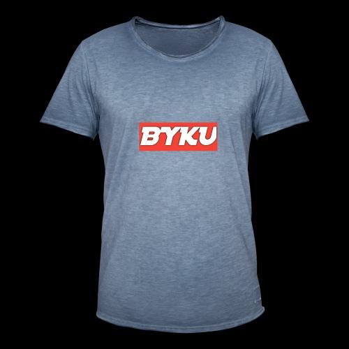 BYKUclothes - Koszulka męska vintage