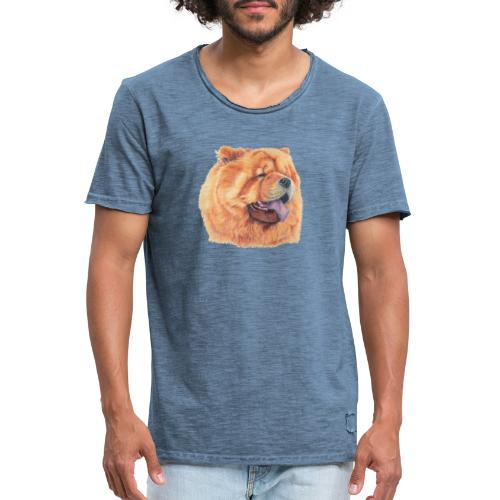 chow chow - Herre vintage T-shirt