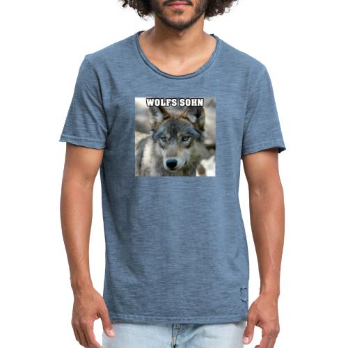 Wolf Logo Serie ( BETA V1.0) - Männer Vintage T-Shirt