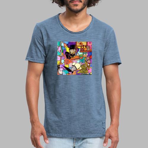 Vunky Vresh Vantastic - Mannen Vintage T-shirt