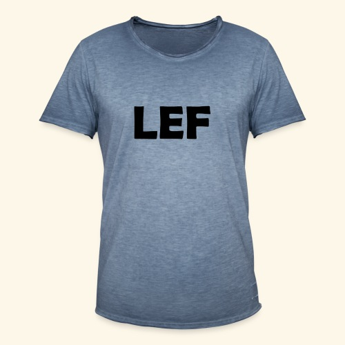 LEF - Mannen Vintage T-shirt