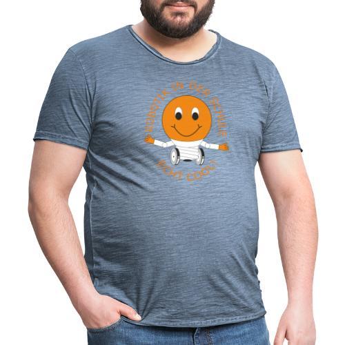 SOMALES- Robotik in der Schule - ECHT COOL - Männer Vintage T-Shirt