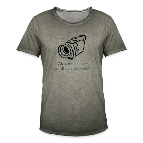 Logo akkerspotter - Mannen Vintage T-shirt
