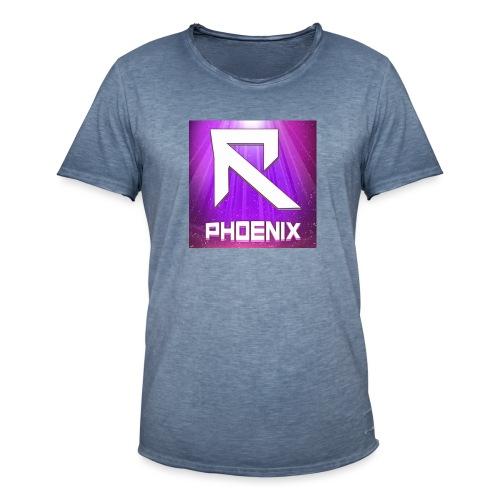RTrixx Phoenix Logo - Men's Vintage T-Shirt