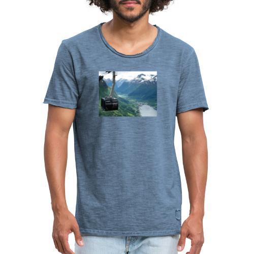 Loen - Vintage-T-skjorte for menn