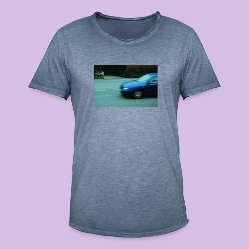 BLUE CAR - Vintage-T-shirt herr