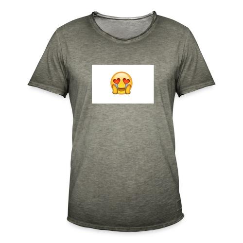 Emoij Hoesje - Mannen Vintage T-shirt