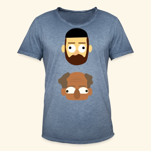 Makkers - Mannen Vintage T-shirt