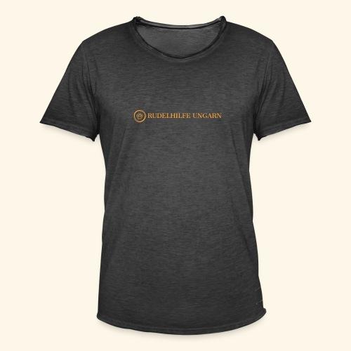 Rudelhilfe Logo - Männer Vintage T-Shirt