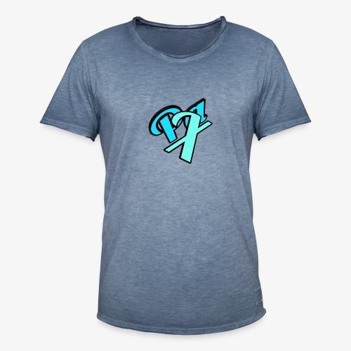 PaXBot Logo - Männer Vintage T-Shirt