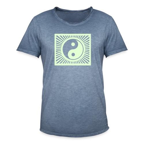 YIN YANG SHINING - Men's Vintage T-Shirt