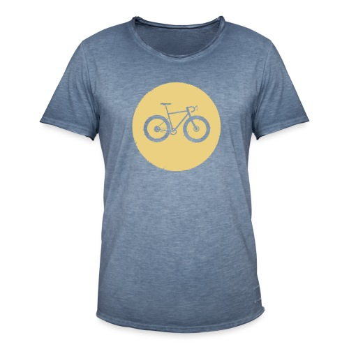 Bycicle Dot - Männer Vintage T-Shirt