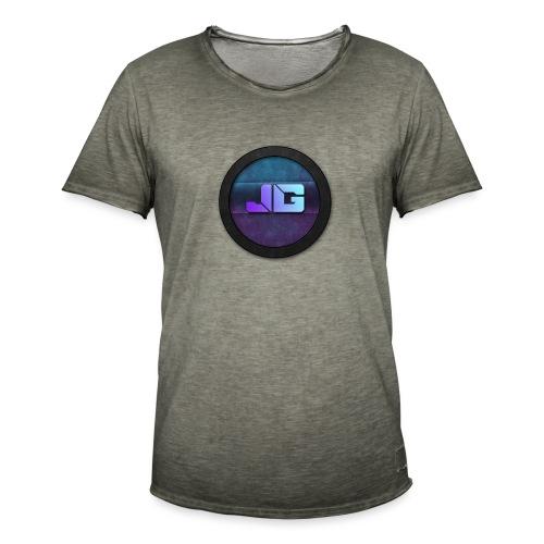 Telefoon hoesje 5/5S met logo - Mannen Vintage T-shirt