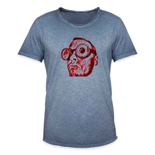 Face Tegner Red Grande - Herre vintage T-shirt