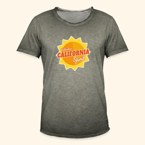 California Spirit Radioshow - T-shirt vintage Homme