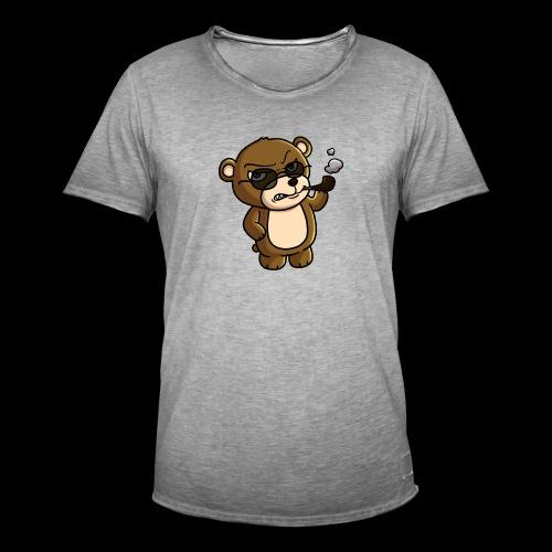 AngryTeddy - Men's Vintage T-Shirt