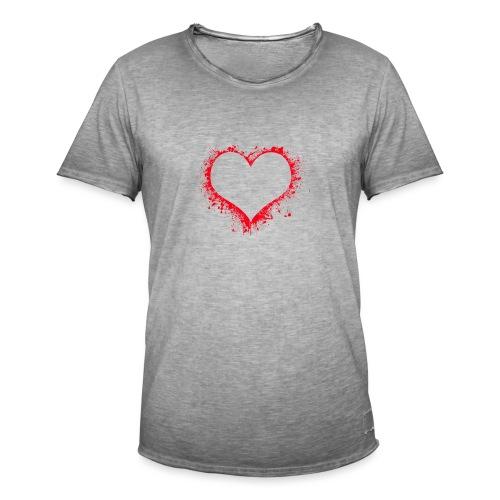 heart 2402086 - Maglietta vintage da uomo