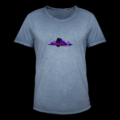cloudy fpv logo STANDARD - Men's Vintage T-Shirt