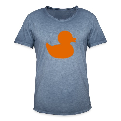 Orange duck tee - Men's Vintage T-Shirt