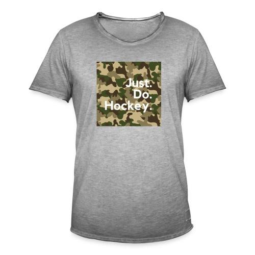 Just.Do.Hockey 2.0 - Mannen Vintage T-shirt