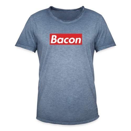 Bacon - Vintage-T-shirt herr