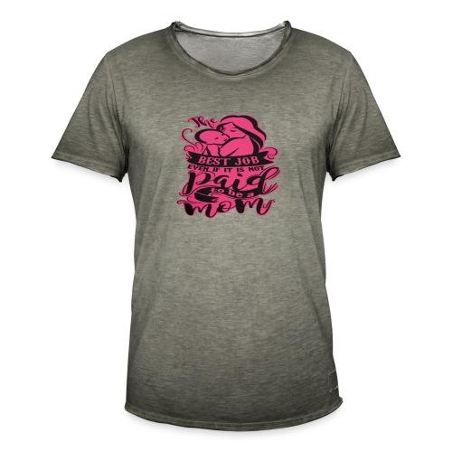 Ilovetobemom - Camiseta vintage hombre