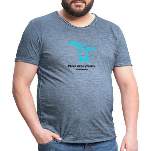 LOGO PARCO DELLE VILLETTE - Maglietta vintage da uomo