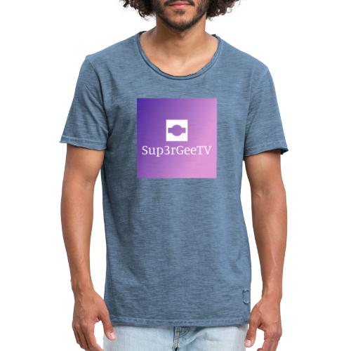 Sup3rGee - Herre vintage T-shirt