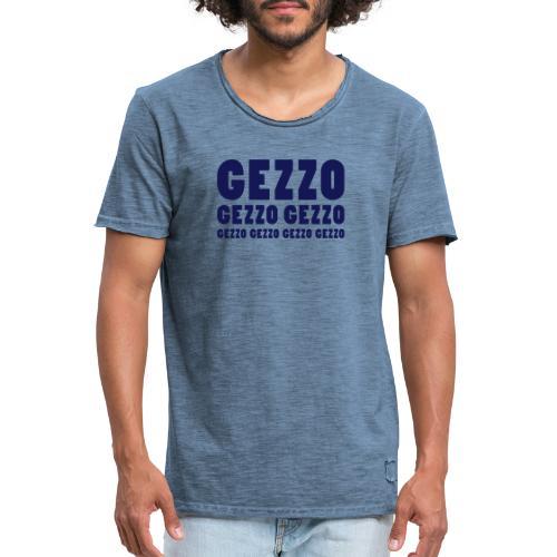 gezzo - Männer Vintage T-Shirt