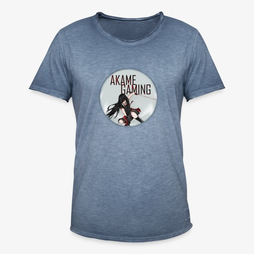 Akame Gaming - Männer Vintage T-Shirt