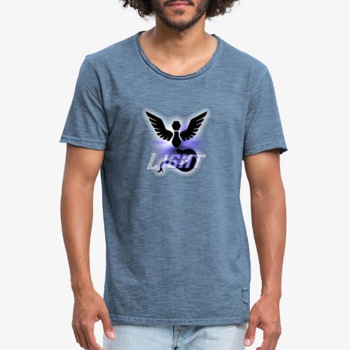 GC Light Logo - Männer Vintage T-Shirt