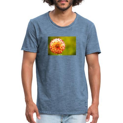 Blomst - Herre vintage T-shirt