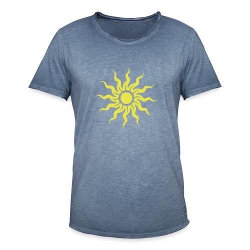 The Sun - Männer Vintage T-Shirt