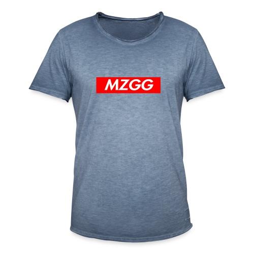 MZGG FIRST - Vintage-T-shirt herr