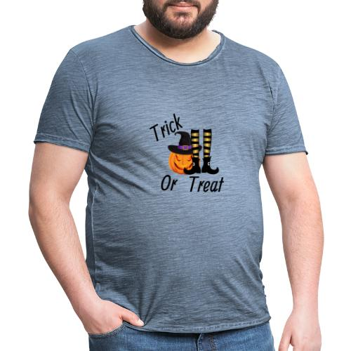 Truco o trato - Camiseta vintage hombre