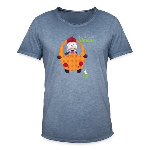 AUTOSIMONE - T-shirt vintage Homme