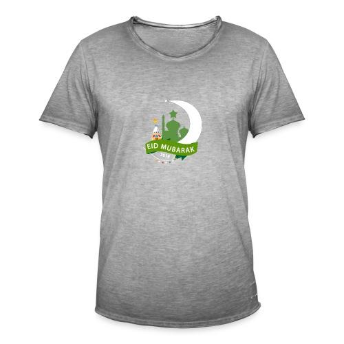 EID MUBARAK , AID SAID - T-shirt vintage Homme