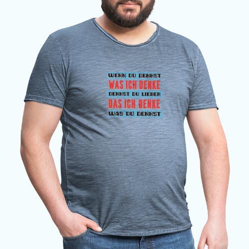 Think - Men's Vintage T-Shirt