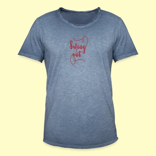 Swing Out Lindy Hop Vintage - Swing Retro - Männer Vintage T-Shirt