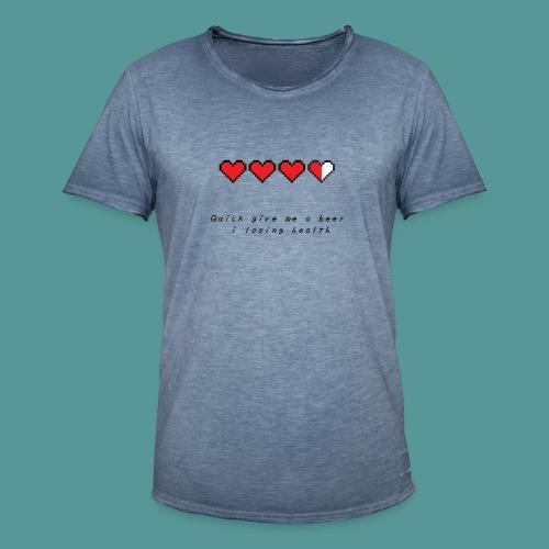 The Legend of Drunk - Mannen Vintage T-shirt