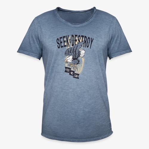 Seek Destroy - Shirts - T-shirt vintage Homme